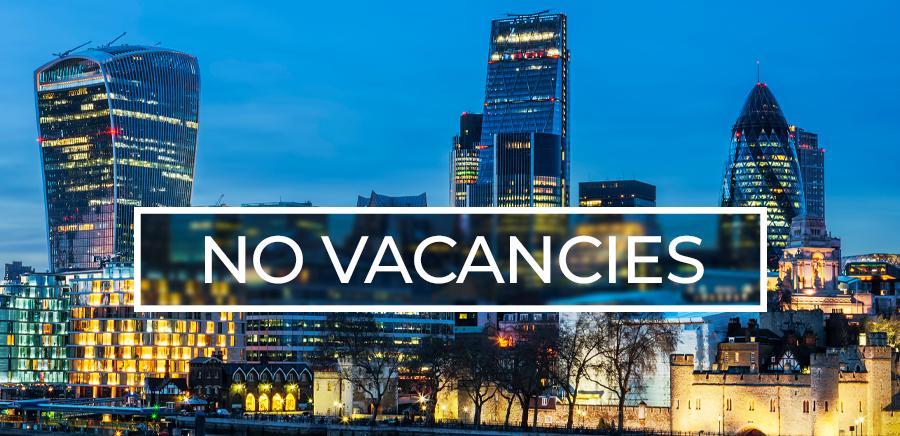 United Kingdom – No Vacancies